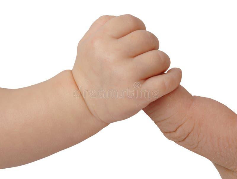 Primo piano del padre e del bambino immagine stock libera da diritti