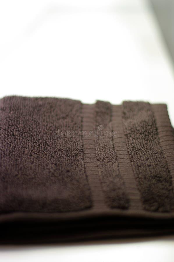 Primo piano dell'asciugamano immagini stock