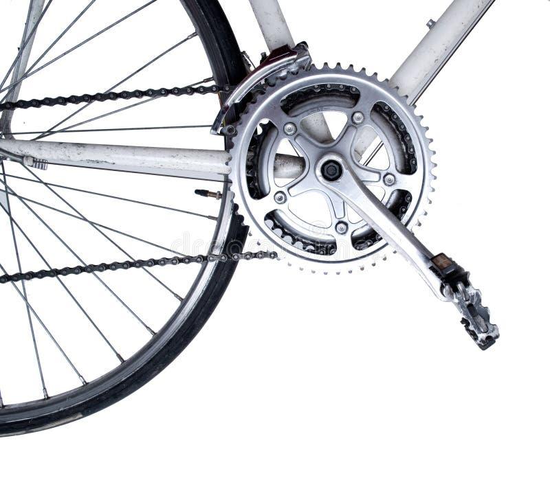 Primo piano della bici fotografia stock libera da diritti
