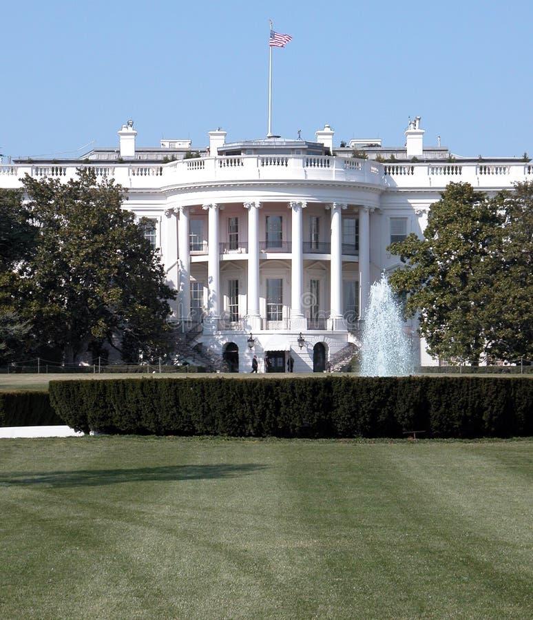 Primo piano della Casa Bianca immagine stock