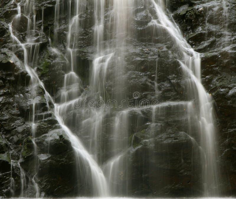 Primo piano della cascata immagine stock