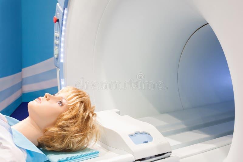 Dimostrazione del tomograph immagini stock libere da diritti