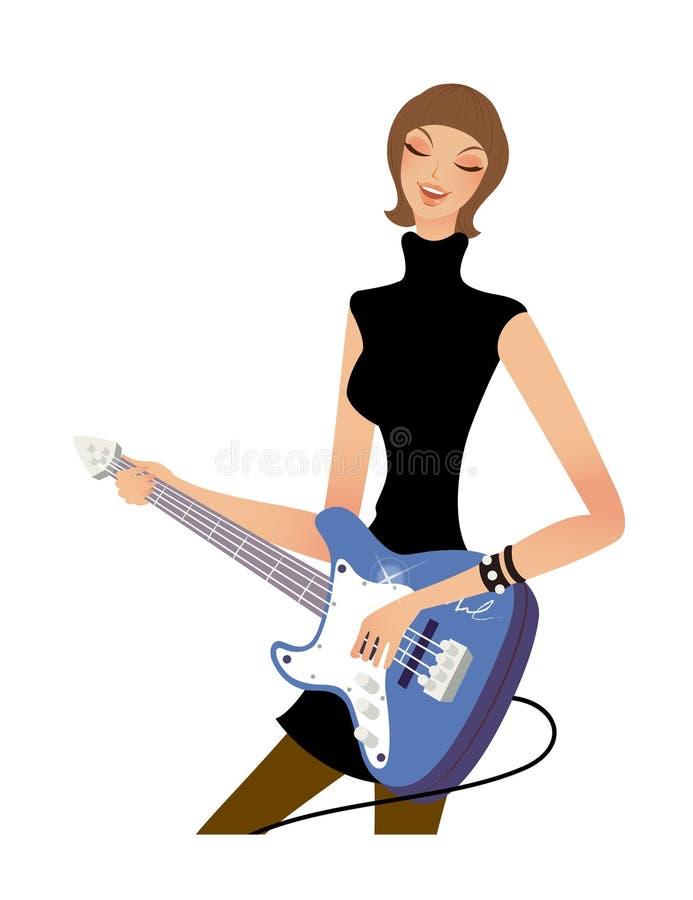 Download Primo piano della donna illustrazione vettoriale. Illustrazione di clip - 30828427
