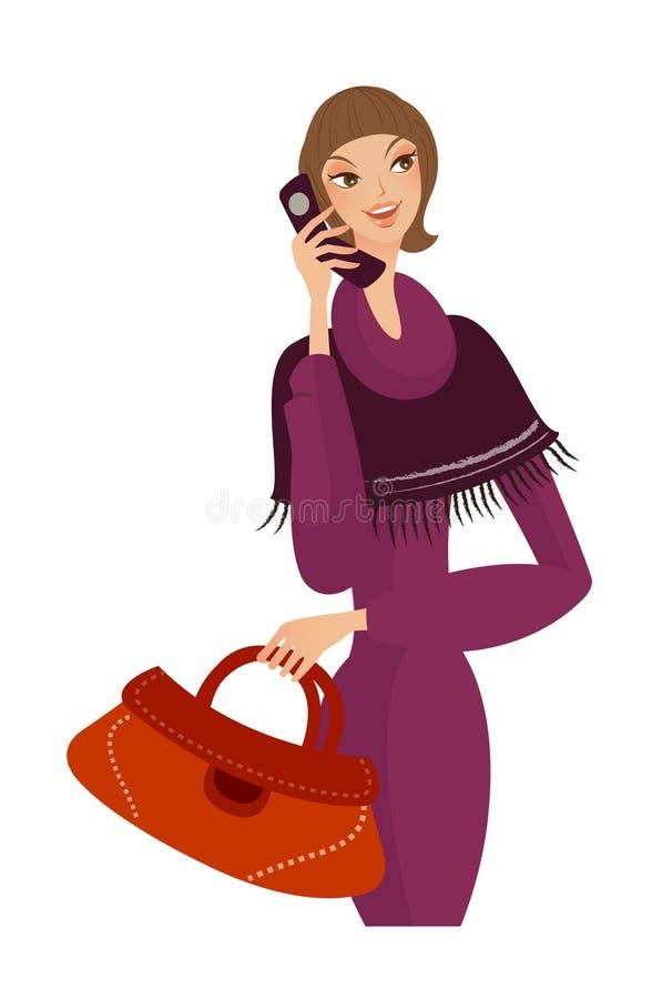Download Primo piano della donna illustrazione vettoriale. Illustrazione di closeup - 30828443