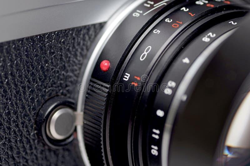 Primo piano della lente fotografie stock libere da diritti