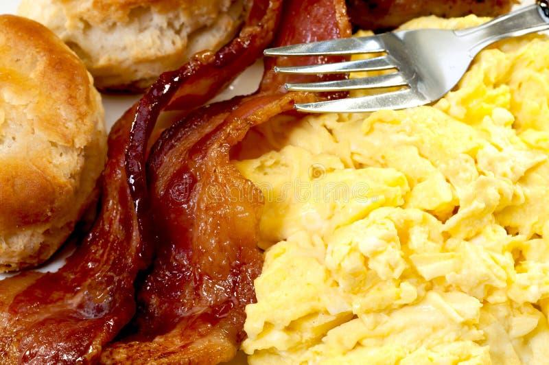 Primo piano della prima colazione del paese fotografia stock libera da diritti