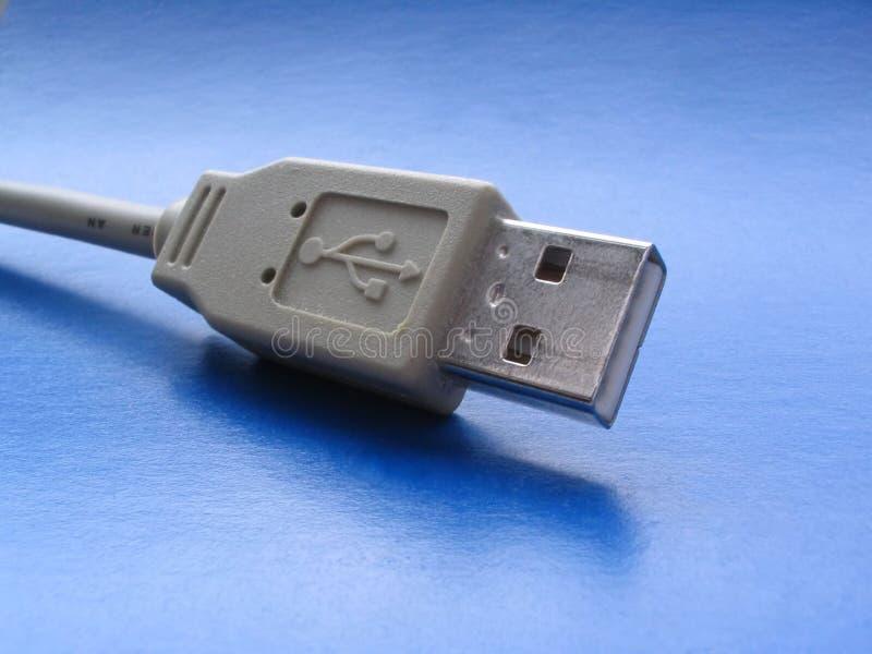 Download Primo Piano Della Spina Del USB Immagine Stock - Immagine di cavità, accoppiamento: 208513