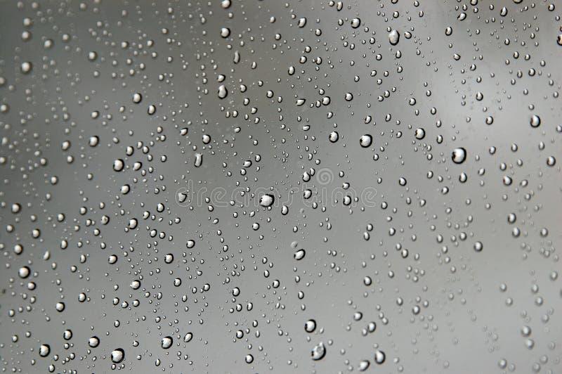 Primo piano delle goccioline di acqua fotografie stock