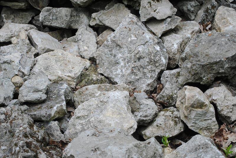 Primo piano delle pietre Struttura di pietra illustrazione vettoriale