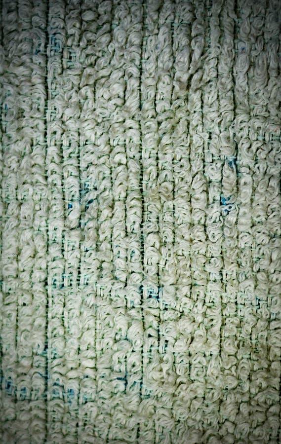 Primo piano dettagliato di struttura del tessuto spugna del tessuto con la scenetta fondo, natura morta illustrazione vettoriale