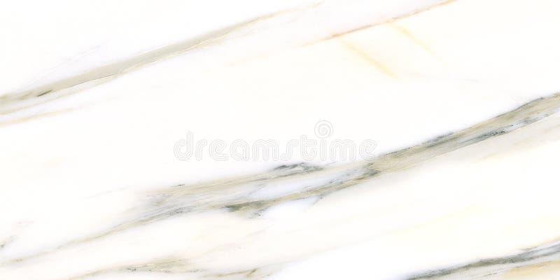 Primo piano di marmo bianco naturale della lastra del modello della piastrella di ceramica di marmo bianca di progettazione fotografie stock