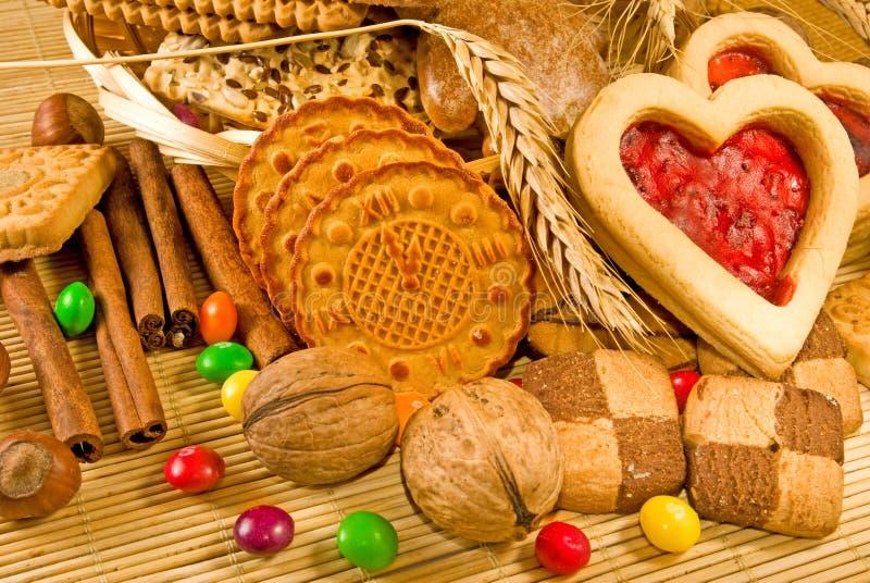 Download Primo Piano Di Molti Biscotti Fotografia Stock - Immagine di cuocia, squisito: 56881978