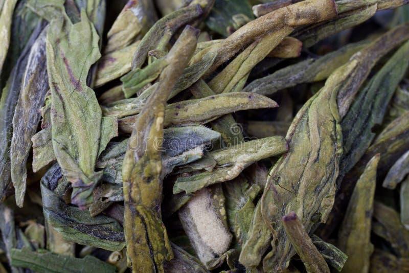 Primo piano di tè cinese fotografie stock libere da diritti