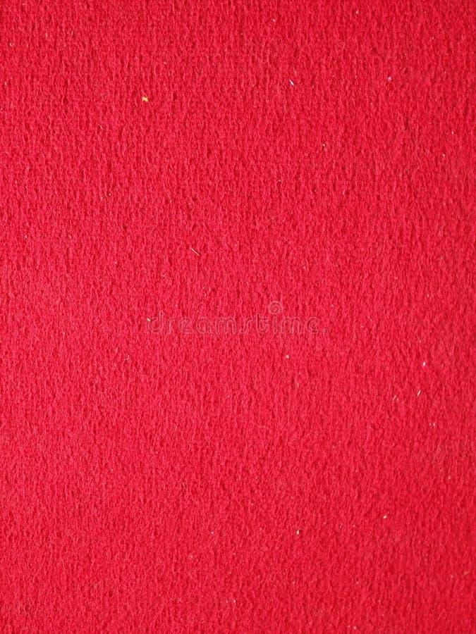 Primo piano di tappeto rosso fotografia stock libera da diritti