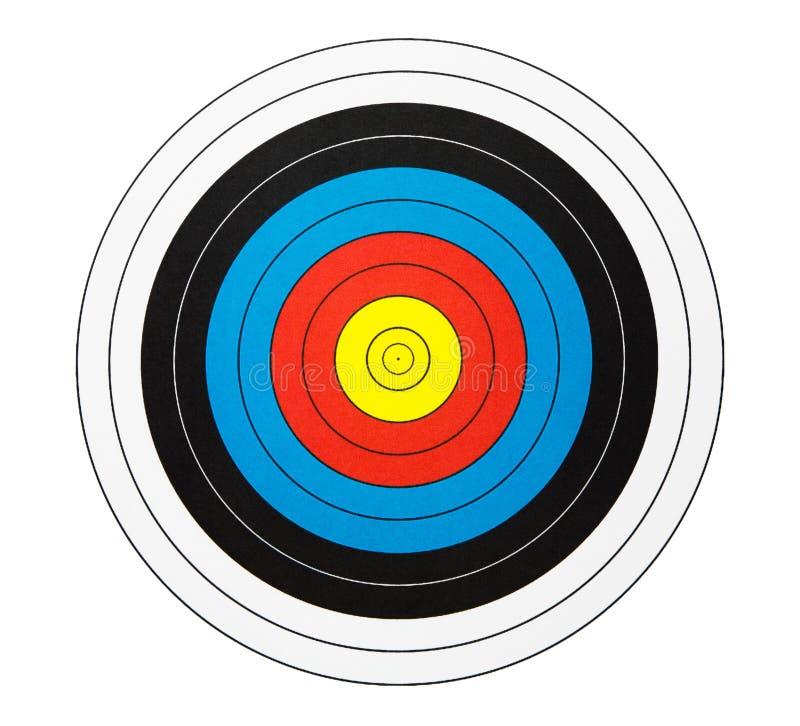 Primo piano di un dartboard immagini stock libere da diritti
