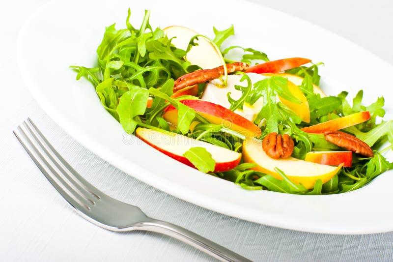 Primo piano di un'insalata immagine stock libera da diritti