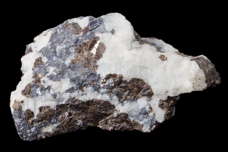 Pietra minerale fotografie stock