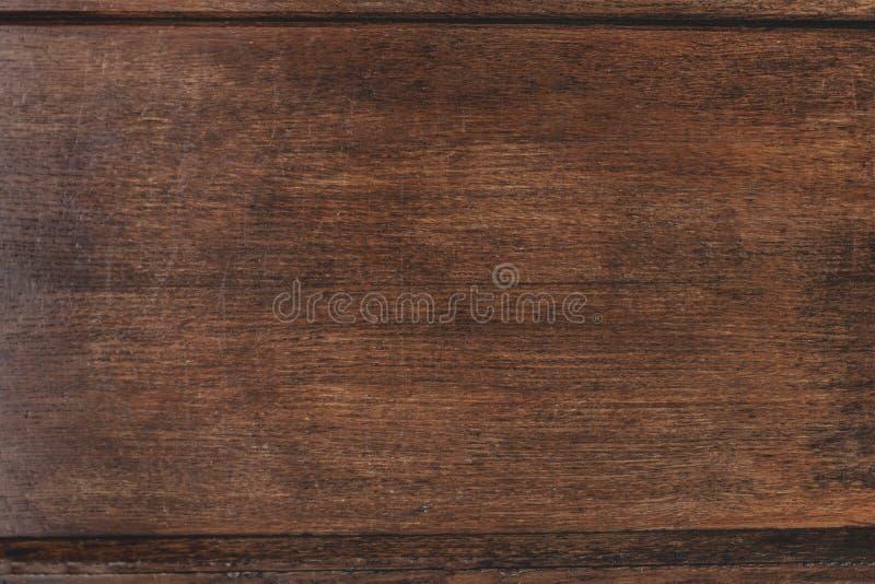 Primo piano di vecchia struttura di legno naturale di lerciume Superficie di buio con ol fotografie stock