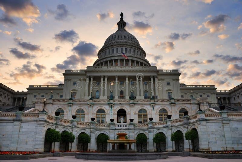 Primo piano edificio di Capitol Hill, Washington DC fotografia stock libera da diritti