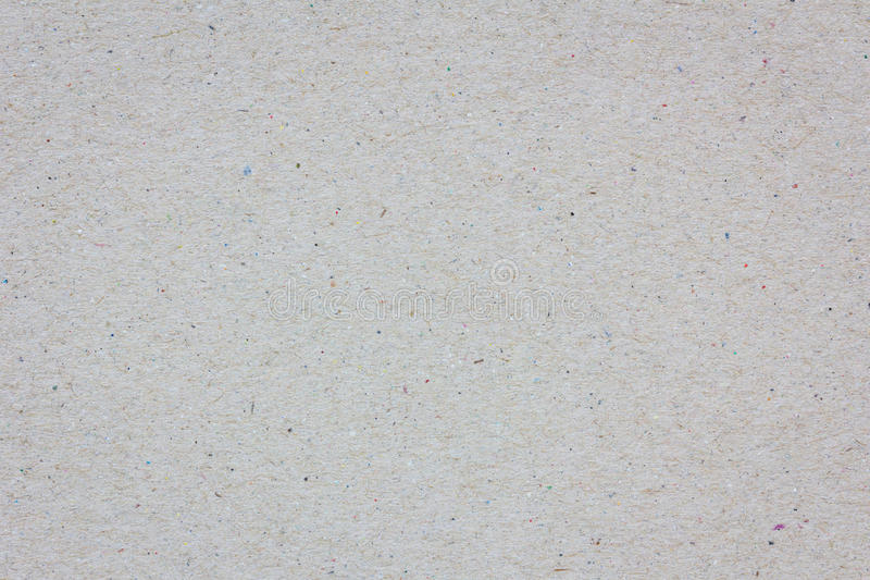 Primo piano estremo di una struttura grigia del cartone, fondo fotografia stock