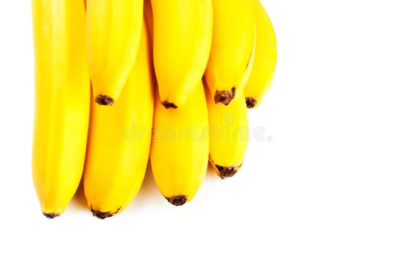 Primo piano giallo delle banane fotografia stock libera da diritti