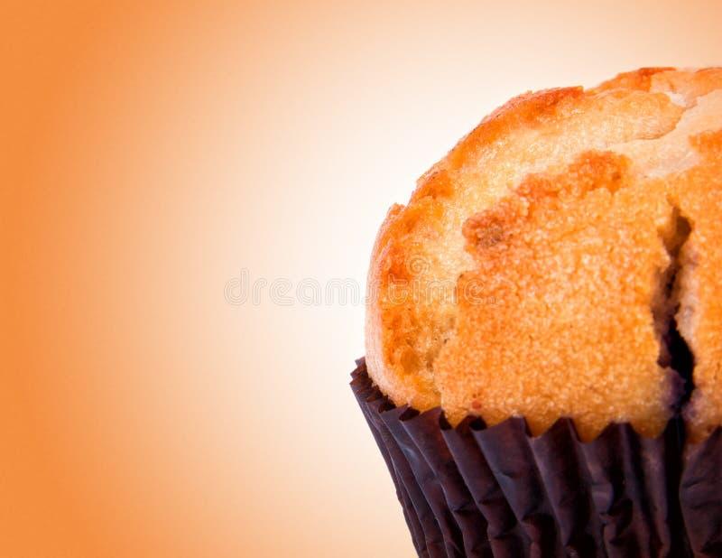 Primo piano saporito del muffin fotografie stock