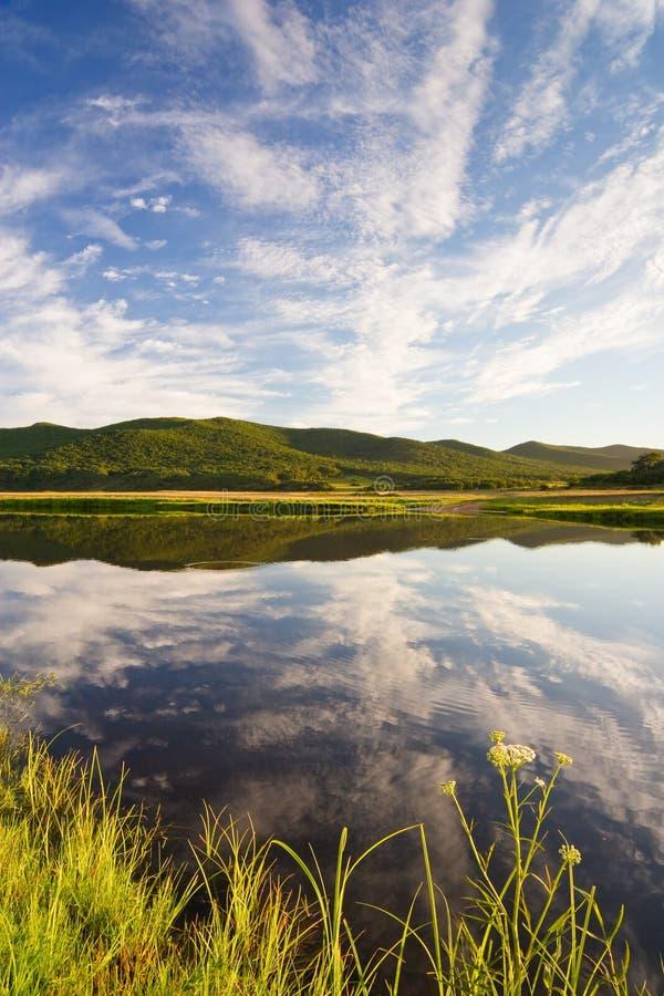 primorye piękny jeziorny rosjanin fotografia royalty free