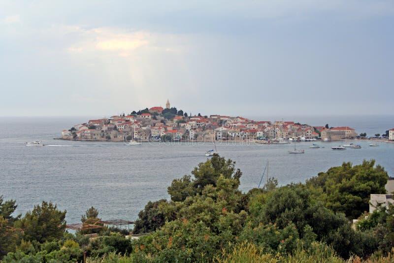 Primosten-Kroatië royalty-vrije stock foto's