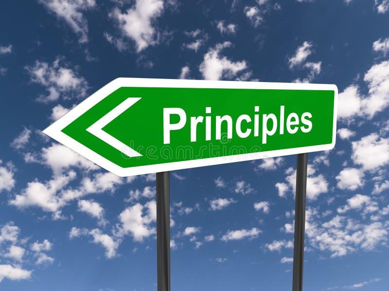 princípios ilustração royalty free