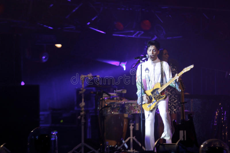 Prince. American singer, songwriter, musician, and actor, Prince, performing at Roskilde Festival 2010 in Roskilde, Denmark