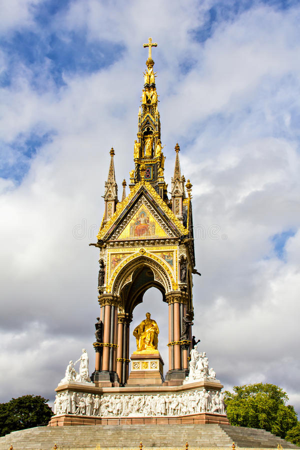 Prince Albert Memorial Stock Photo Image Of Marble