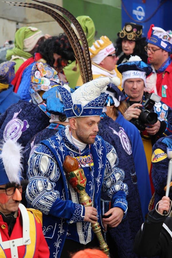 Prince Bart de Meyst de carnaval d'Aalst photos stock