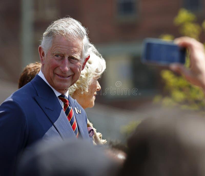 Prince Charles Camilla Saint John 2012 images stock