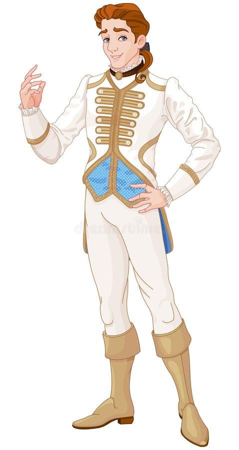 Prince charme illustration stock