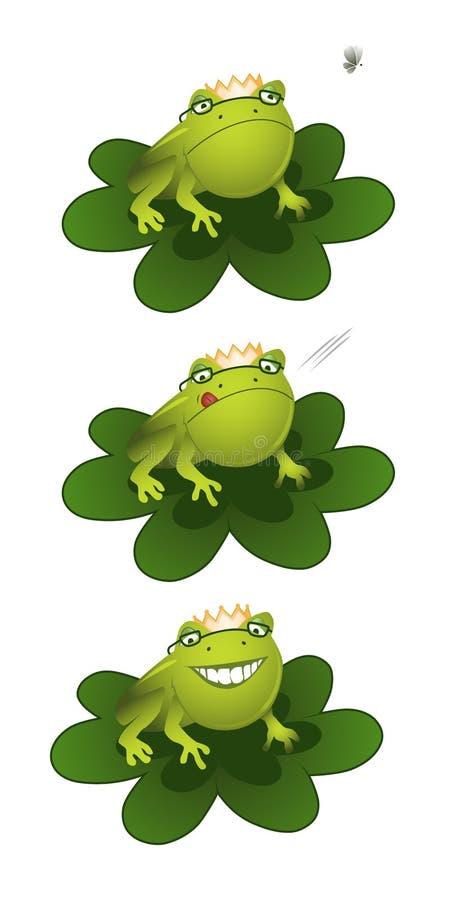 Prince de grenouille illustration libre de droits