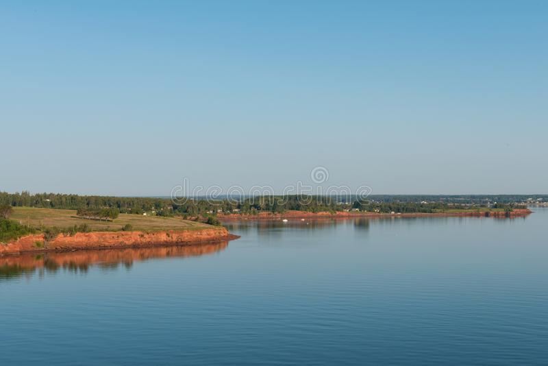 Prince Edward Island coast stock photos