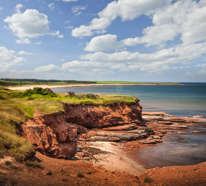 Prince Edward Island coast stock photography