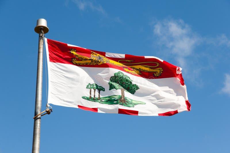 Prince Edward Island Flag - Canada photographie stock libre de droits