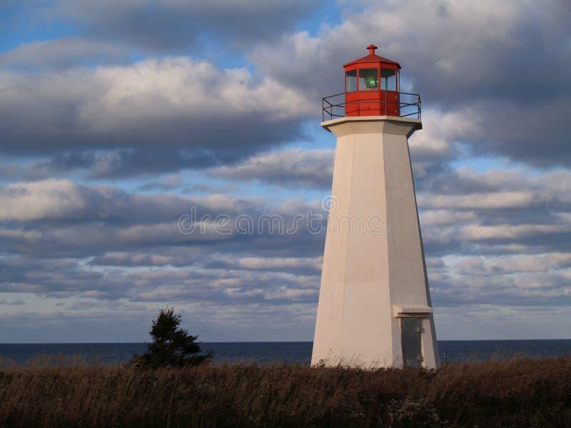Prince Edward Island Lighthouse stock photography