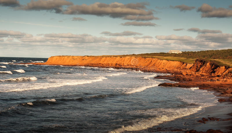 Prince Edward Island. The north shore of Prince Edward Island Canada royalty free stock photo