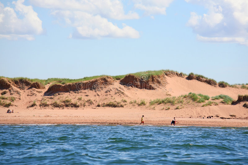 Prince Edward Island Sand Dunes stock photos