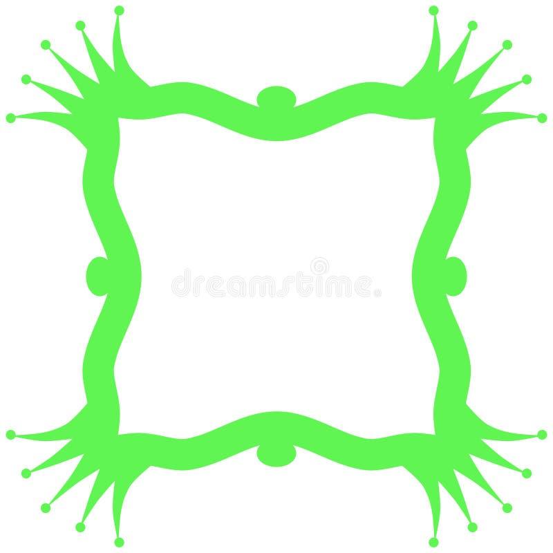 Download Prince Frog Frame Invitation Card Stock Illustration - Illustration of frog, crowns: 92111980