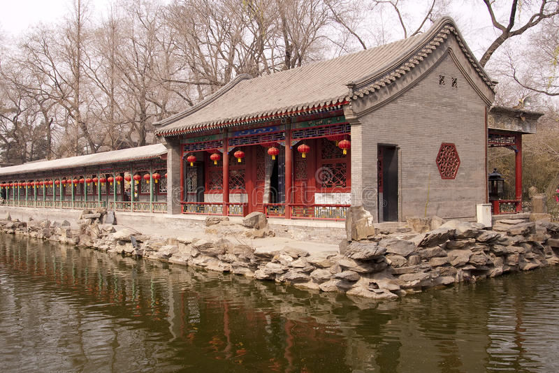 Prince Gong Mansion, dans Pékin Chine images libres de droits