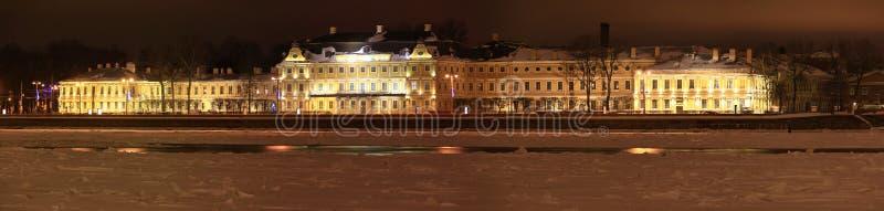 Download Prince Menshikov Palace stock photo. Image of river, snow - 25973884