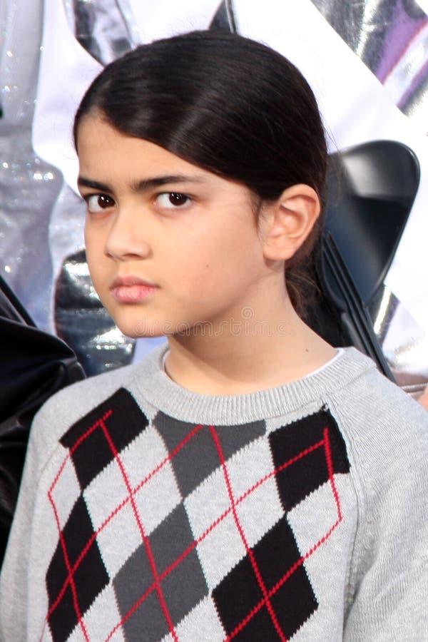 Prince Michael Jackson II, Jackson couvrant photos libres de droits