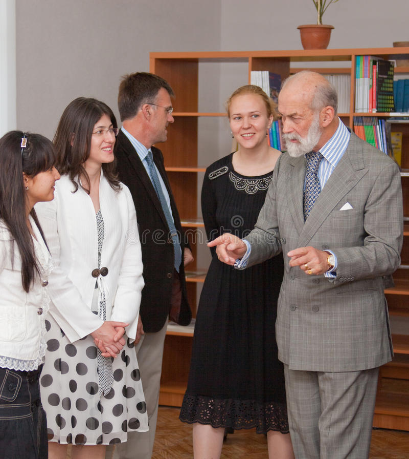 PRINCE MICHAEL OF KENT images stock