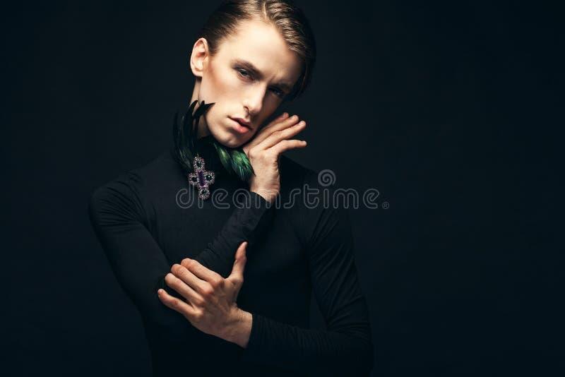 Prince noir photos stock