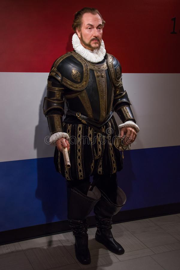 William of Orange from the Netherlands. Prince of Orange, Count of Nassau-Dillenburg, better known as William of Orange or under his nickname William the Silent stock photos