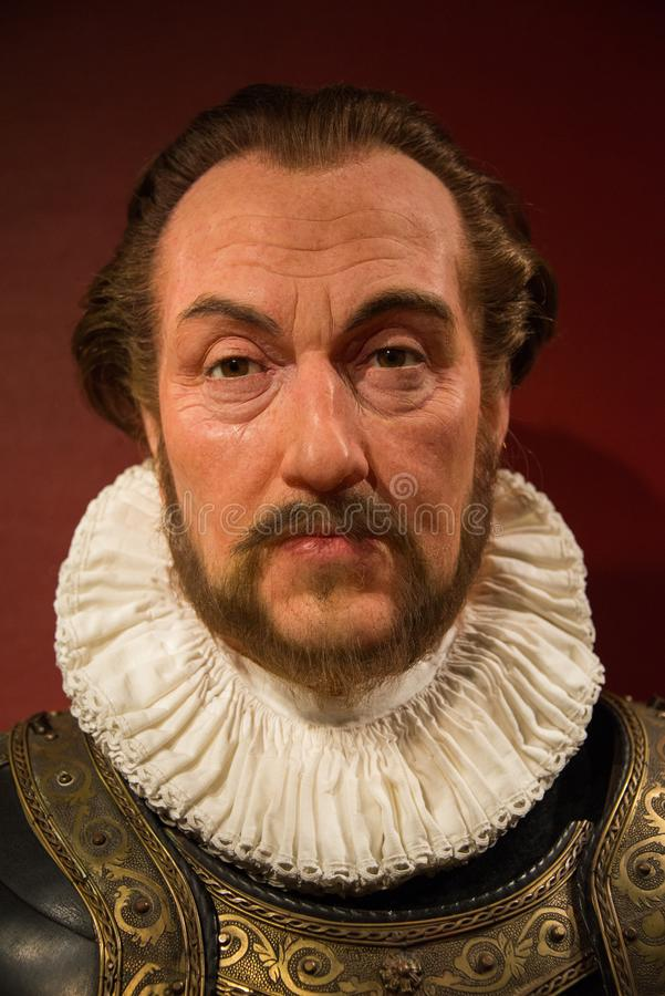 William of Orange from the Netherlands. Prince of Orange, Count of Nassau-Dillenburg, better known as William of Orange or under his nickname William the Silent stock photography