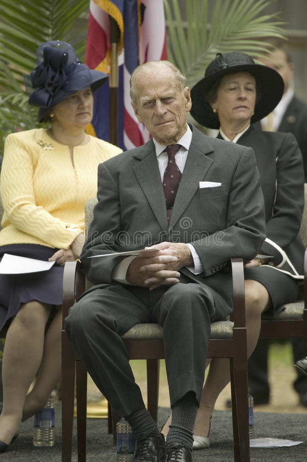 Download Prince Philip editorial photography. Image of jamestown - 27066332